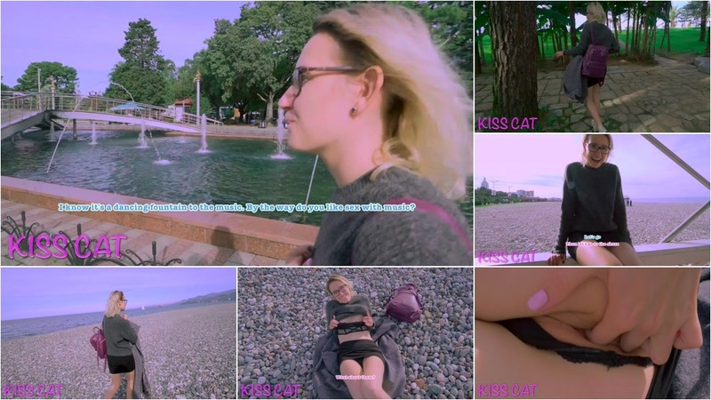 Kiss Cat - 4k Public Agent - 18 Babe Flashing Tits with Close up Pussy in Central Park (1080P/mp4/473 MB/FullHD)