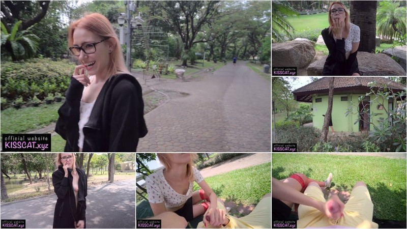 Kiss Cat - 4k Public Agent - Russian 18 Babe Flashing & Swallow Cum in Central Park (1080P/mp4/616 MB/FullHD)
