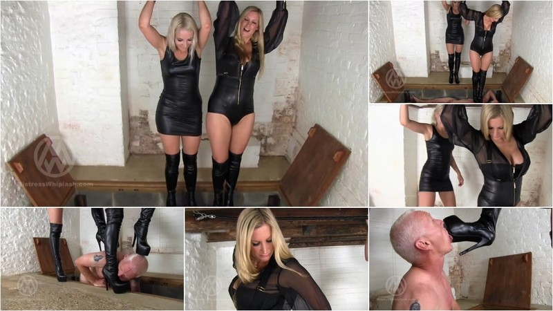 Wl1462 : Double Trampling From Sky High Boots [FullHD 1080P]
