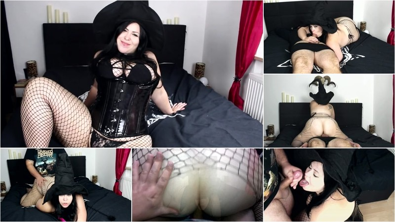 MinaDemonic - Chubby Witch fucked in all holes [FullHD 1080P]