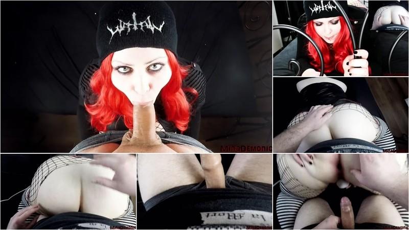 MinaDemonic - Redhead Slut loves hard Anal Fucking [HD 720P]