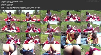 Sexy Saffron - Canada Day Creampie, 1080p