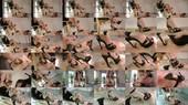 Human Footstool Under High Heels - Lady Katharina