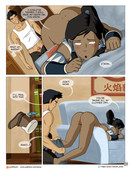 Area - Intimate Meeting - Legend of Korra comic - 26 pages - ongoing
