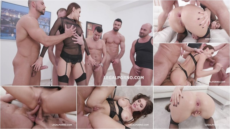 Monster of DAP, Kitana Lure 5on1 Balls Deep Anal, DAP, TP, GAPES, Facial GIO1408 [HD 720P]