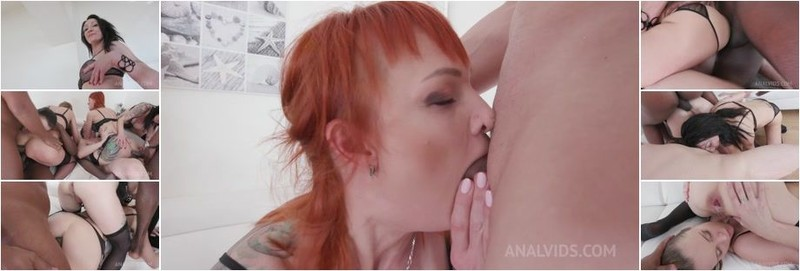 Ally Style, Kessie Shy, Nika - Kinky Anal Orgy with Kessie Shy, Lyna Cypher, Ally Style Nika (HD)