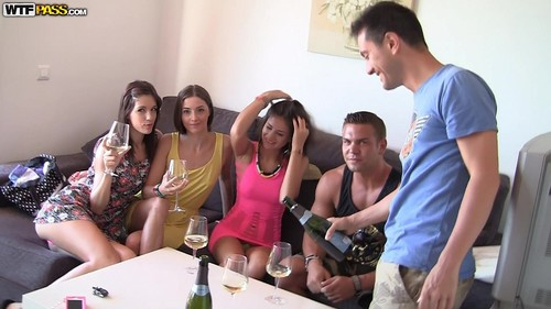 Real Sex Party On The Sunny Beach, Part 1 [HD]