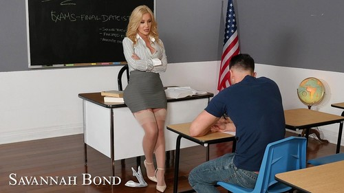 Savannah Bond Gives Kinky Incentive To Her Student [FullHD]