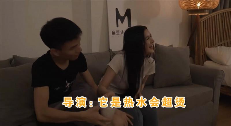 """原创国产新作-麻豆传媒三十天性爱企划之""""巨乳前女友""""片场花絮"""