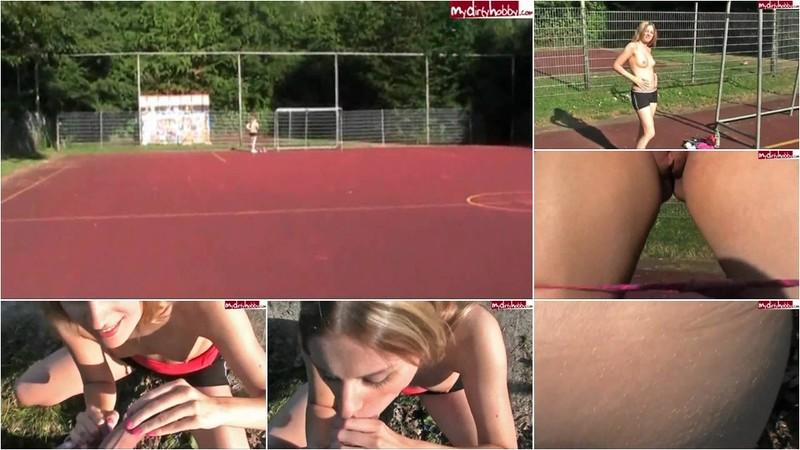 Jessie21 - Sportp latz Spanner geblasen & gefick [HD 720P]