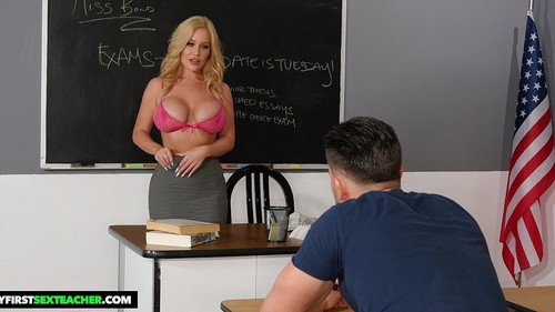 Savannah Bond Gives Kinky Incentive To Her Student [HD]