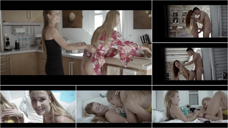 Melody Petite Alexis Crystal And Nancy a Holiday On Mykonos 5 [FullHD 1080P]