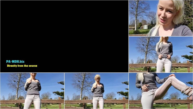 SexyJenJen - Outdoor einfach in die Jeans gepisst (1080P/mp4/33.4 MB/FullHD)