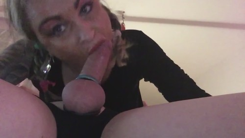 Amateurs - Horny Granny Sucking His Cock Deep In A Sixty Nine [HD/720p]