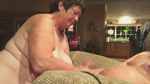 Busty Mature Wife Sucks Her Husbands Cock On Camera [HD]