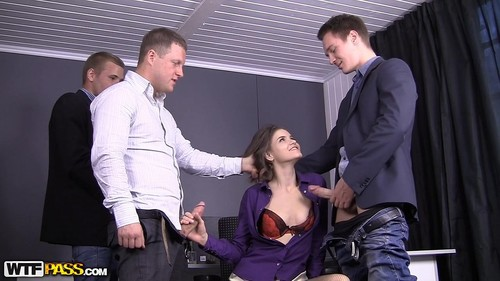 Anna Taylor - Hot Hardcore Sex As B-Day Present (SD)