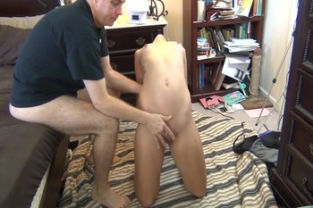 Punishment for the naughty stepdaughter
