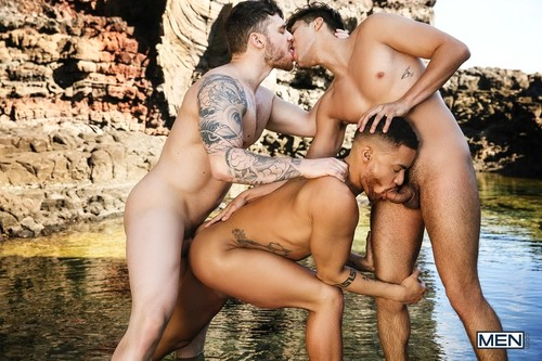 MEN - Rise Of The Sirens Part 4: Beaux Banks, Matthew Camp, Angel Rivera Bareback (May 1)