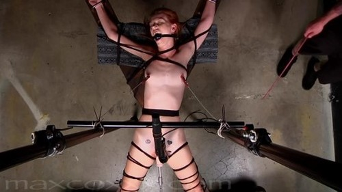 Sexy Ginger Brought to Endless Orgasms in Dungeon Setting Bitch