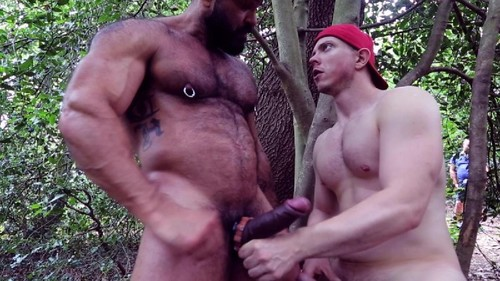 RoganRichards - Piss and Ball Play in Public