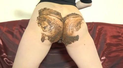 ElenaToilet - Twerking Big Shitty Ass - Solo Scat, Defecation, Shiting Girl, Dirty As