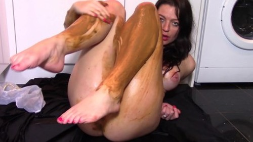 Evamarie88 - Plastic Pants Shit - Solo Scat, Defecation, Shiting Girl, Dirty Ass
