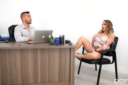 Cali Carter - Cheating Wife Fucked In Detectives Office [SD/480p]