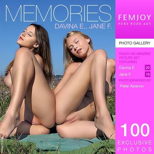 Davina E & Jane F - Memories (x100)
