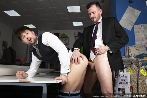 MenAtPlay - The Tailor and Franky: Drew Dixon, Franky Fox Bareback