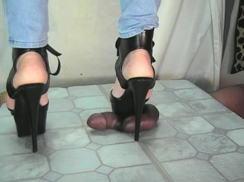 SweetFeet Ball Crushing Persecution of His Privates - Worship, Mistress, Femdom Porn