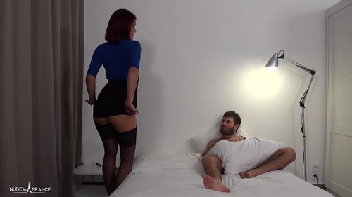 Housewife Sells Her Ass To Her Friends While Her Husband Works [SD]
