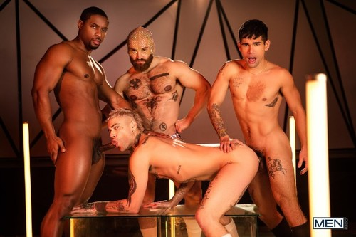 MEN - Tom of Finland: Future Erotica: Ty Mitchell, Francois Sagat, Mickey Taylor, DeAngelo Jackson  (May 8)