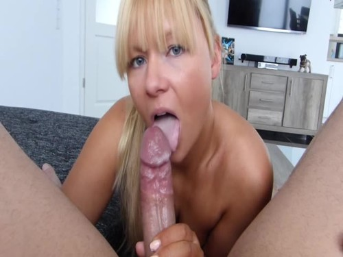 Super Sexy Blonde Milf Sucks Dick And Gets Ass Fucked [SD]
