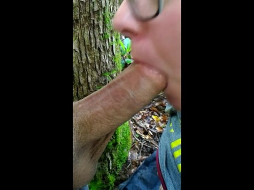 Quick Blowjob In The Park Makes My Cock Really Happy [SD]