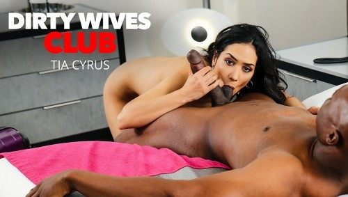 Tia Cyrus - Tia Cyrus Has Permission From Husband To Fuck Whomever When Shes Away On Business (SD)
