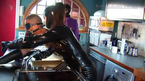 Fetish, Latex, Rubber Video, Leather Sex Video 6044