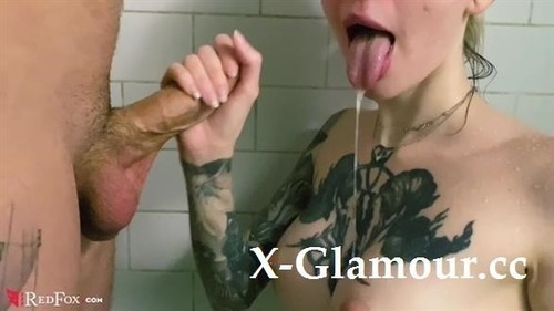 Tattoed Babe Pov Blowjob And Cum In Mouth In The Bathroom [FullHD]