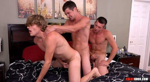 ColbyKnox - The Moore The Merrier: Colby Chambers, Mickey Knox, Robin Moore