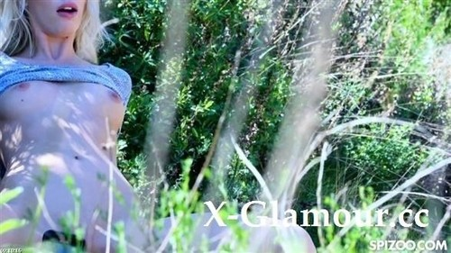 Sky Pierce - Blonde Gets Pounded On Outdoor Hike (HD)