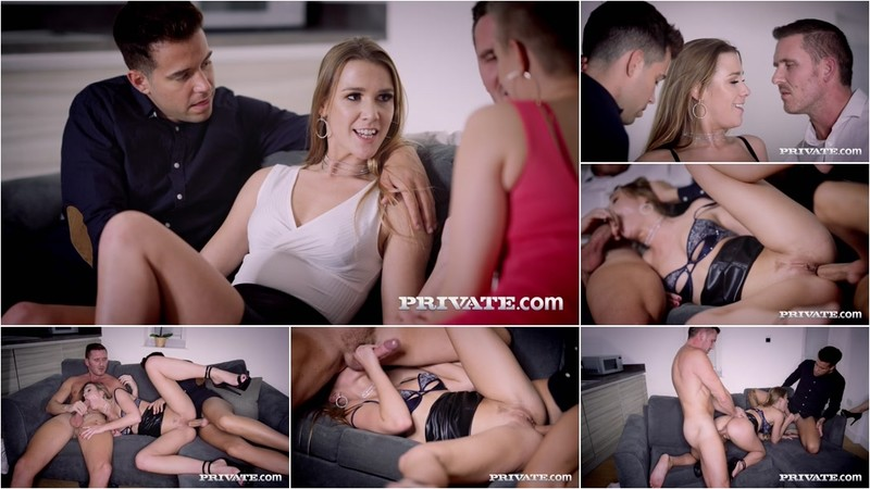 Alexis Crystal Enjoys Threesome With Voyeur Gabi Gold [FullHD 1080P]