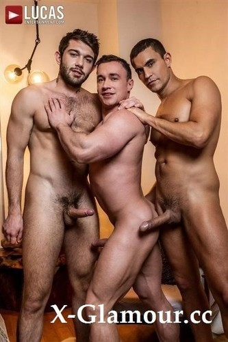 Alexander Volkov, Ben Batemen, Rafael Carreras - Lvp338-04 Rock Hard And Raw, Scene 4 - Alexander Volkov Services Rafael Carreras And Ben Batemen [FullHD/1080p]