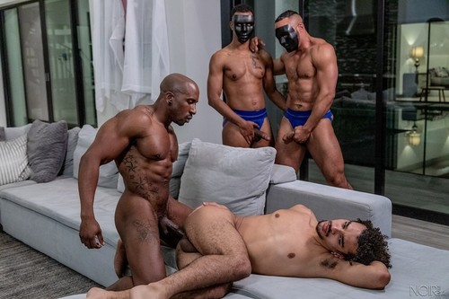 NoirMale - The Masters Wishes: Max Konnor, Derek Cline Bareback (May 22)