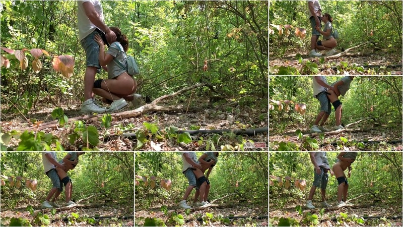 Candy Kitty - Public Sex in the Woods [FullHD 467 MB]