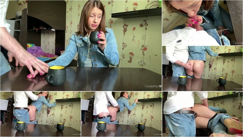 Candy Kitty - Girl from Tinder was Shy but she was Fucked on a first Date [FullHD 338 MB]