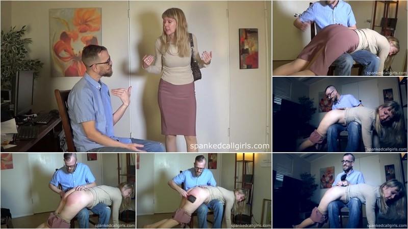 Clare Fonda - Accountant Spanks Madam Clare [FullHD 1080p]