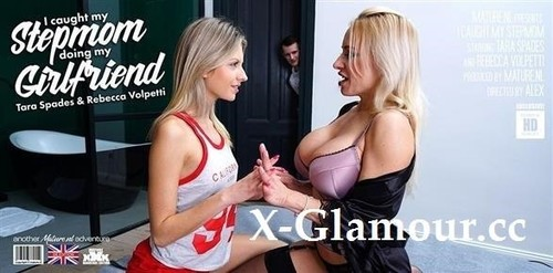 Rebecca Volpetti 22, Tara Spades 42 - My Girlfriend Is Doing My Hot Stepmom. I Caught Them And Then Joined In! [FullHD/1080p]