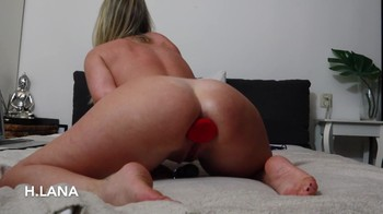 Helena Lana huge fist in her asshole 2