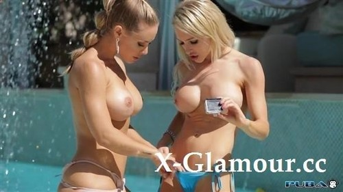 Nicole Aniston - Pool Side Fun With Two Hot Blondes (HD)