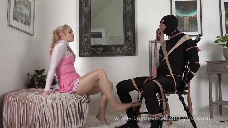 Mandy Marx Cheerleader Blackmail Trap 1080p