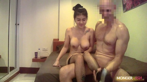 Oay -  Thai Hooker With Big Fake Tits Gets Nailed By Giant Dick